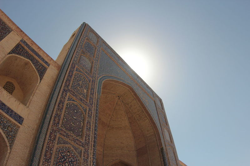 Architecture City History The Past Travel Destinations Sky No People Ancient Civilization Day Outdoors Tourism Building Exterior Vacations Light Traveling Travel Photography Travel Bukhara Uzbekistan Mosque Architecture Madrassa Medrese Blue Beautiful Colors