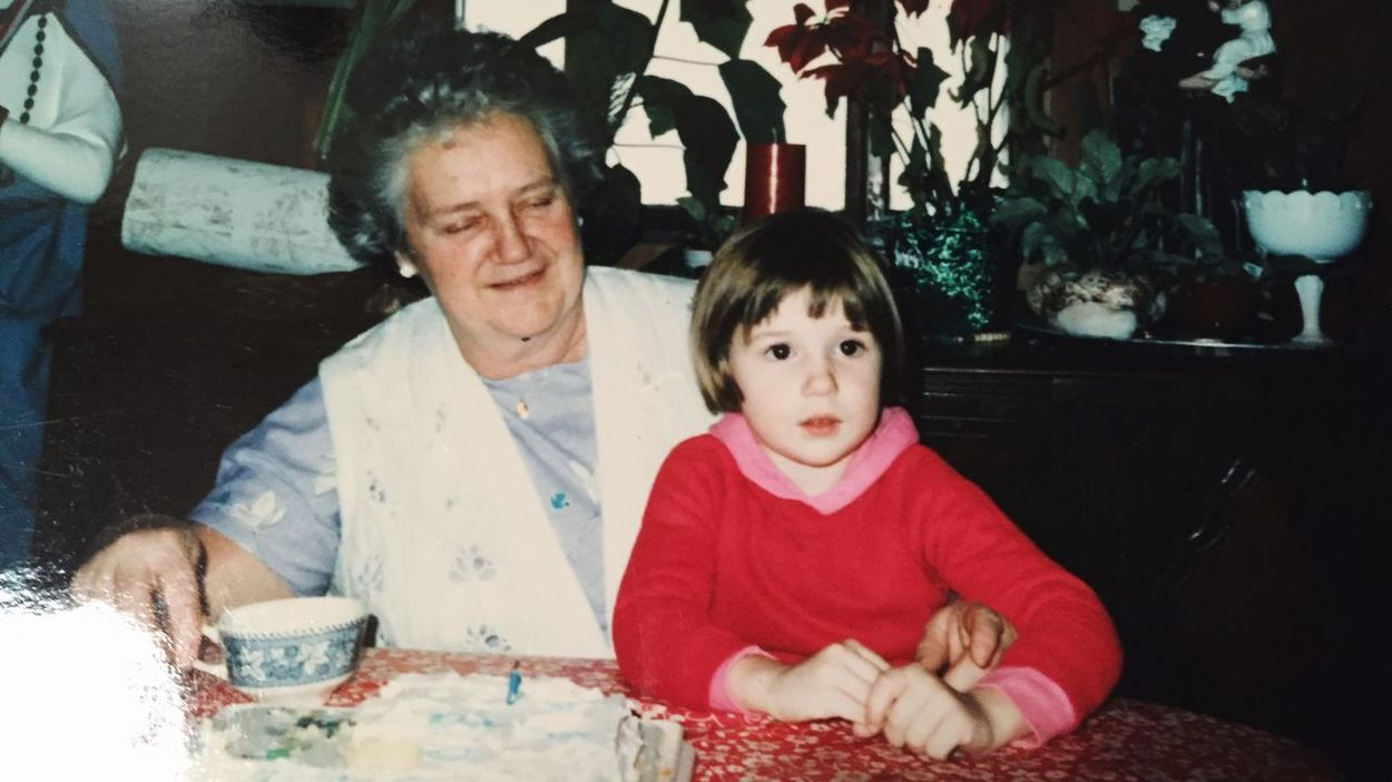 My Grandmother and I a long long time ago. I miss this woman so much. She will always be one of my favorite people. About Life Enjoying Life Smiling :) Another World People Woman Timeless Grandma Love  Granny Miss You Memories Love Family
