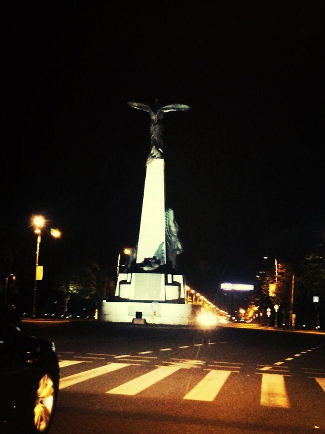Hello World Bucharest Vacation Night