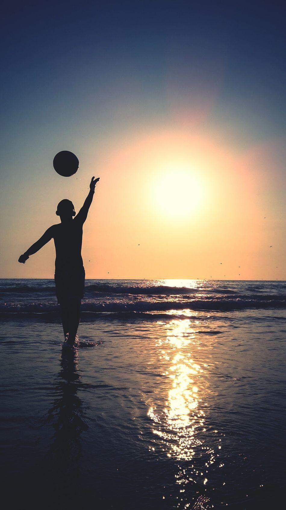 Beautiful stock photos of ball, Ball, Beach, Beauty In Nature, Boys
