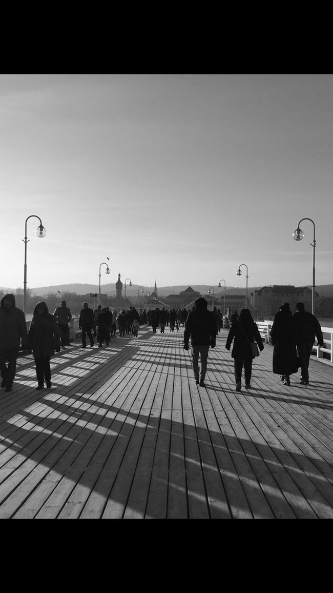 EyeEm Gallery EyeEm Best Shots Streetphoto_bw Streetphotography Bw_collection Blackandwhite Eye4photography  Light And Shadow Shadow Sopot