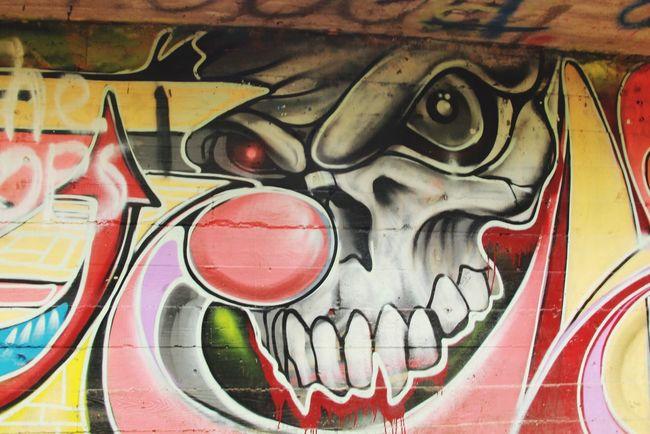 Graffiti Graffiti Hikingadventures Found This In The Woods Creepy