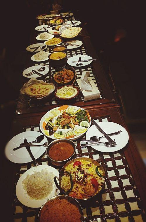 Dinner time ..