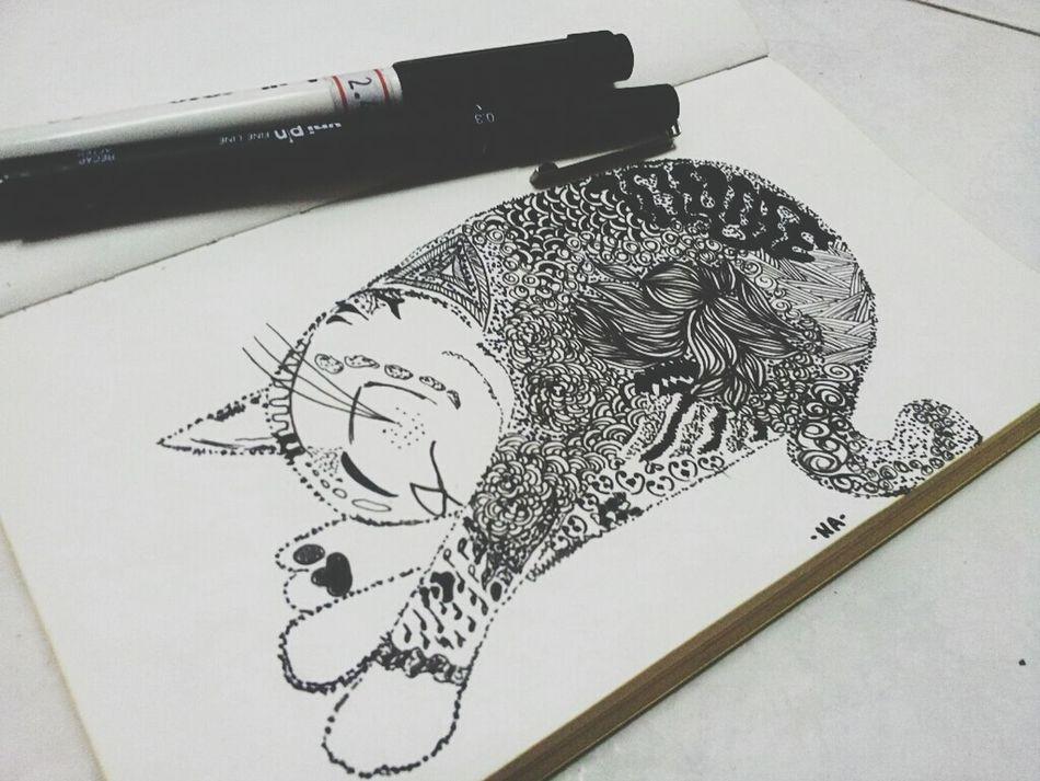 Meow! hmm burukk. okey okeyy. bosann dewa dewi punya pasal. Art Sketching Sketch Drawing
