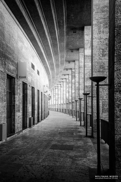 Architectural Column Architecture Berlin Blackandwhite Fine Art Photography Olympic Stadium Welcome To Black