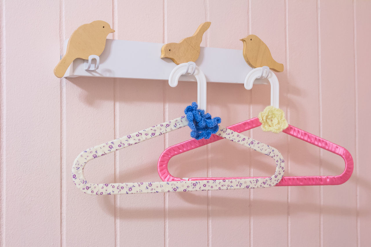 Art Baby Bird Bride Close-up Cloth Hanger Clothes Collection Creative Decoration DIY Dress Fancy Fashion Girl Handmade Hanger Hook Ideas Objects Pink Romantic Sweet Valentine Vintage