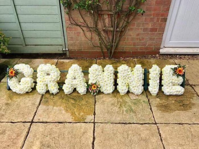 Outdoors Day No People Building Exterior Architecture Grannie Loved And Missed Deceased Flower