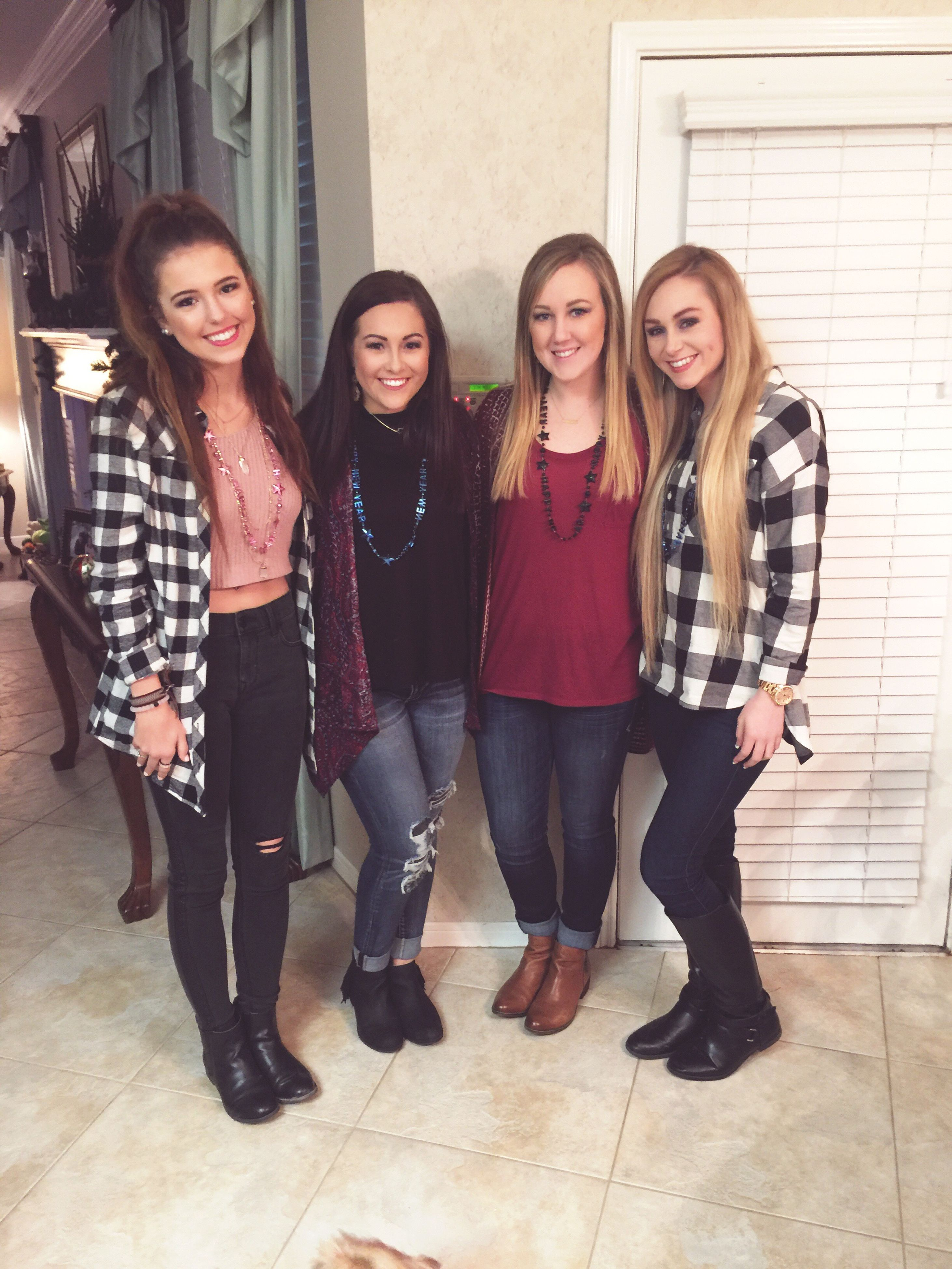 lifestyles, young adult, togetherness, person, bonding, young women, leisure activity, front view, looking at camera, casual clothing, smiling, portrait, happiness, friendship, standing, love, full length, indoors