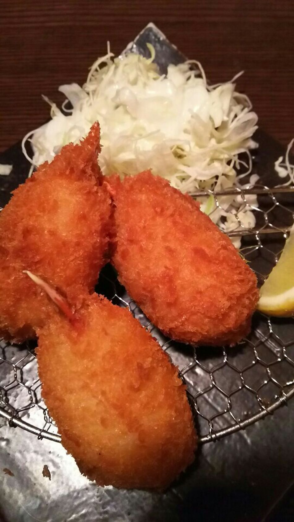 Japanese Food Fried Crab