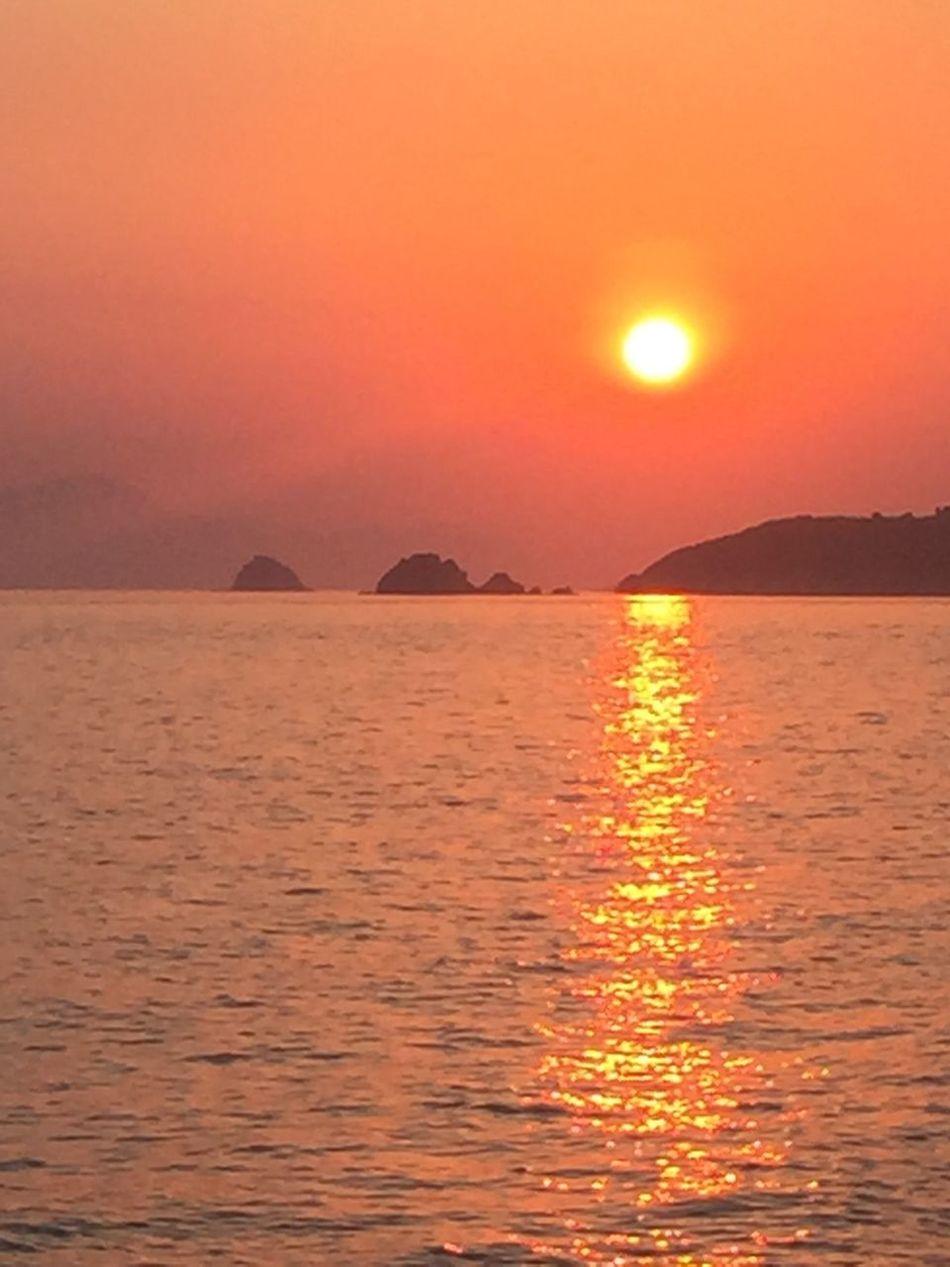 Sunset Sunshine Love