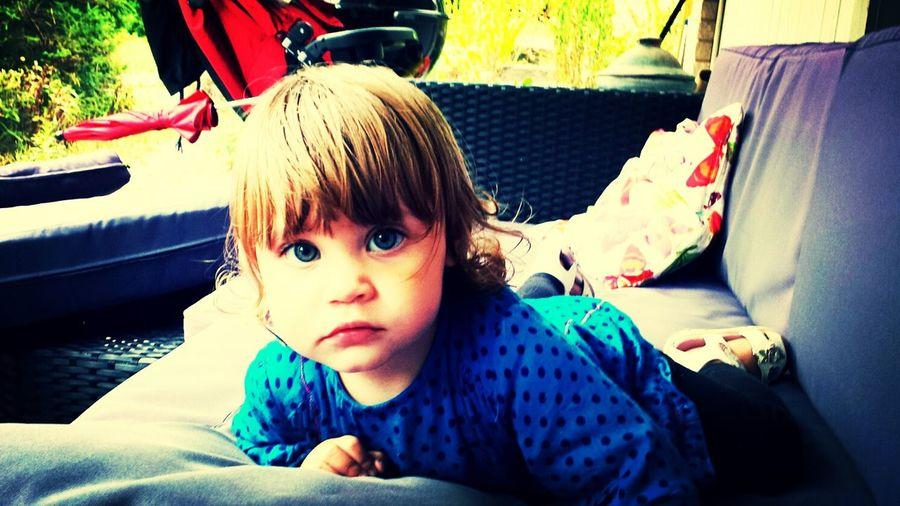 Cute Babygirl Beautiful Eyes My Friend's Daughter Sweden