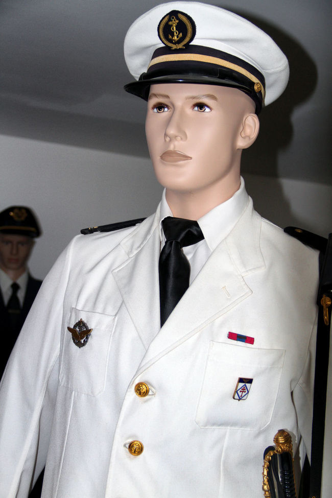 Captain Dummy Dummy Heads Dummy Photos Marin Ship's Mast Ship's Master Uniform UniformPhotography