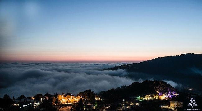 Lebanon Keserwan Beautiful Nature Sky And Clouds