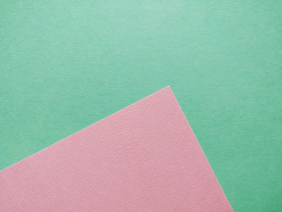 Studio Shot Colored Background Copy Space Pink Color Green Background Close-up No People Paper Green Color Indoors  Day Abstract Copy Space Fresh On Market 2017