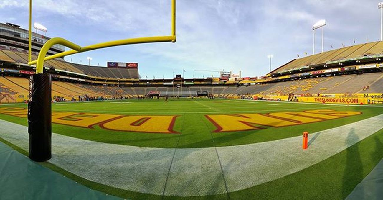Thanks Tempe Arizonastate it was fun and loved being a guest. Great weekend with our amazing crew making Tvmagic Collegefootball