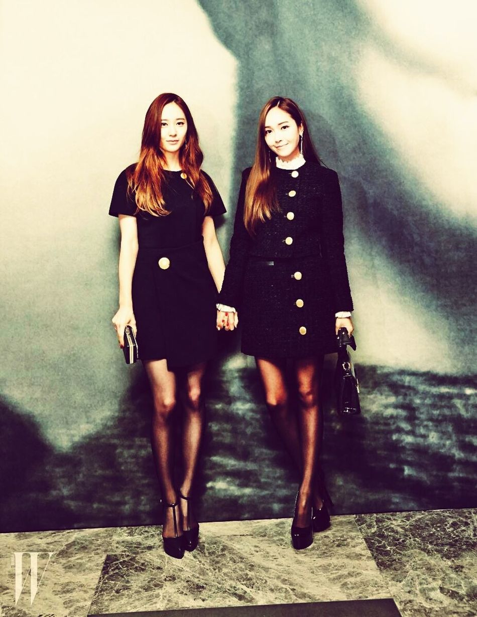 Blanc Jessica Jung Sister ❤
