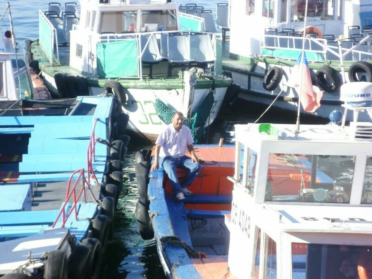 PeopleOfTheOceans People And Places. Chile Valparaiso, Chile Harbour View Boats
