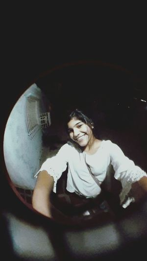 Fisheye Girl Night