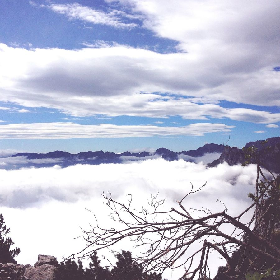 52 Gallerie The Calm Touch The Clouds Inspiration Panorama Mountain Scenics Beauty In Nature EyeEmNewHere