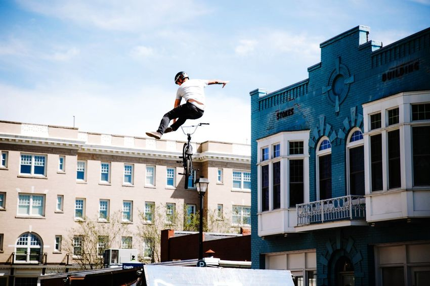 Bmx  Action Shot  Streetphotography Bike VisualEffects