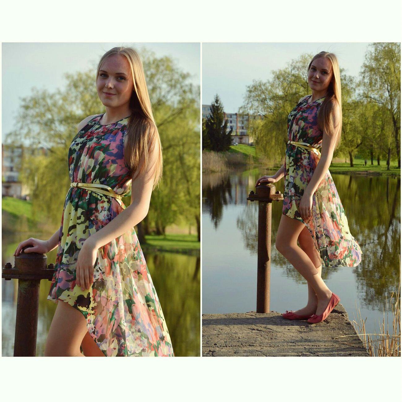 I need summer 😣☀ Summer Dress Faces Of EyeEm Lithuanian Girl Sunny Day Hot Love It Likeforlike Fresh Model