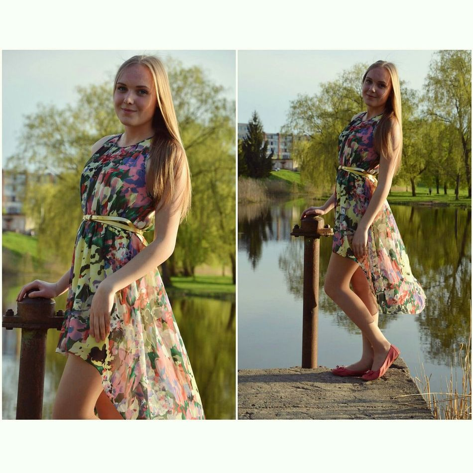 I need summer 😣☀ Summer Dress Faces Of EyeEm Lithuanian Girl Sunny Day Hot Love It Likeforlike Fresh Model