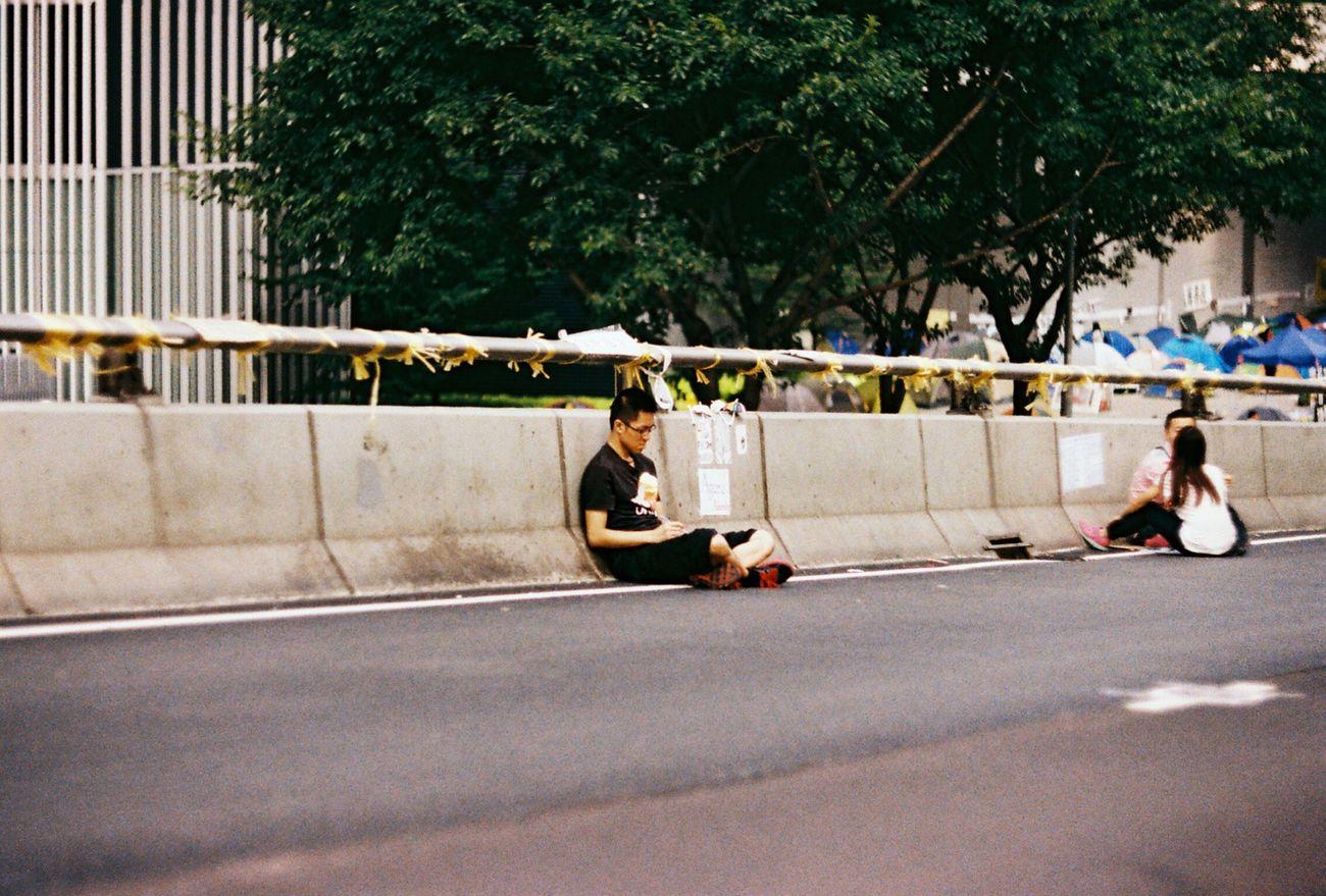 Hope From The Umbrella Revolution Umbrella Revolution Democracy The Street Photographer - 2015 EyeEm Awards