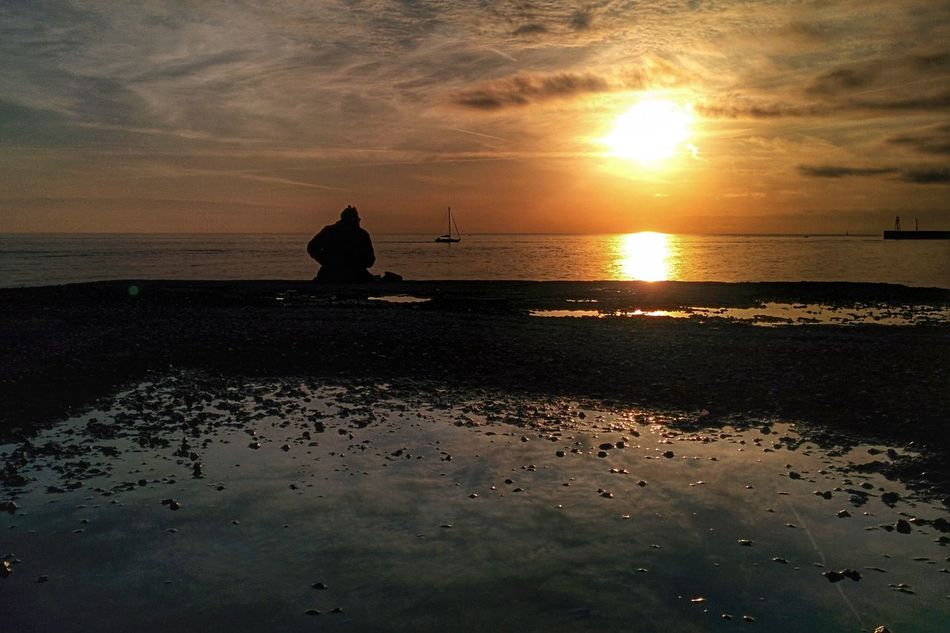 Sunset Silhouettes EyeEm Best Shots Landscape_Collection Sea View