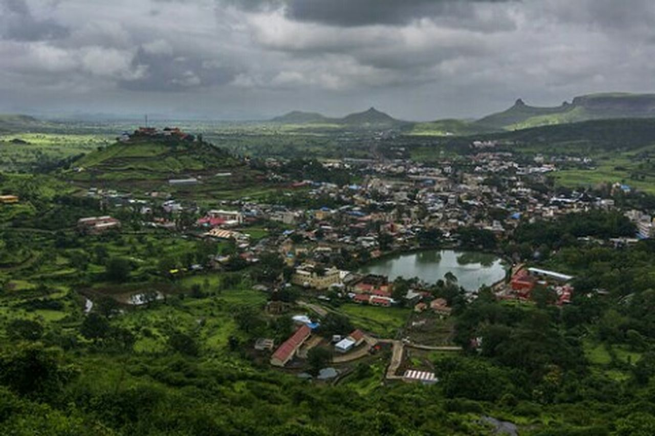 Beautiful view of Trimbakeshwar Kumbhmela Maharashtra India Landscape Landscape_photography Nashik Trimbakeshwar 2015  Festival Outdoor Neighborhood Map