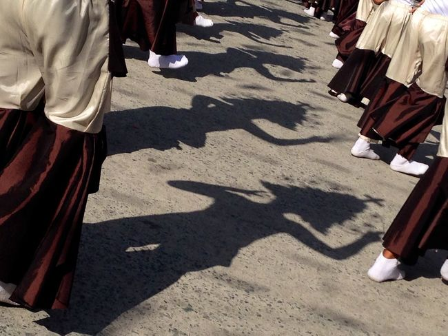 Dancers cast their shadows during a town fiesta celebration in Pampanga province in the Philippines. Shadows Shadows & Lights Shadow Dancing Shadow Dancer Fiesta Shadow Photography Shadow Play Everyday Philippines EyeEm Best Shots EyeEmBestPics Dancing Around The World Dancing Culture Culture And Tradition Culture Of Philippines Philippines Pampanga Religious Festival