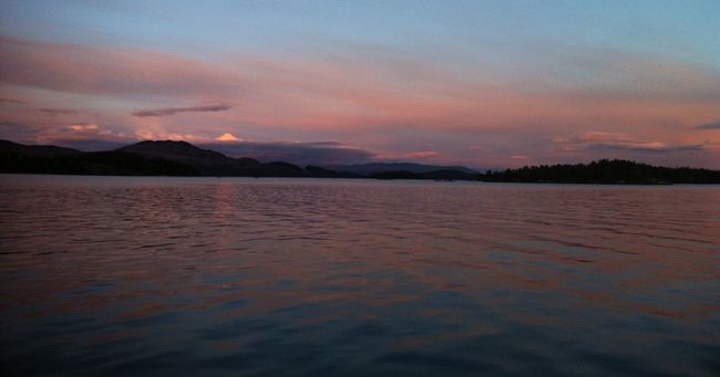 Tranquil Scene Scenics Beauty In Nature Landscape Tranquility Nature Outdoors Lake Horizon Over Land Mountains Non-urban Scene Remote Idyllic Dusk Water LochLomond Rural Scene Mountain Range Water Reflections Pink Cloud