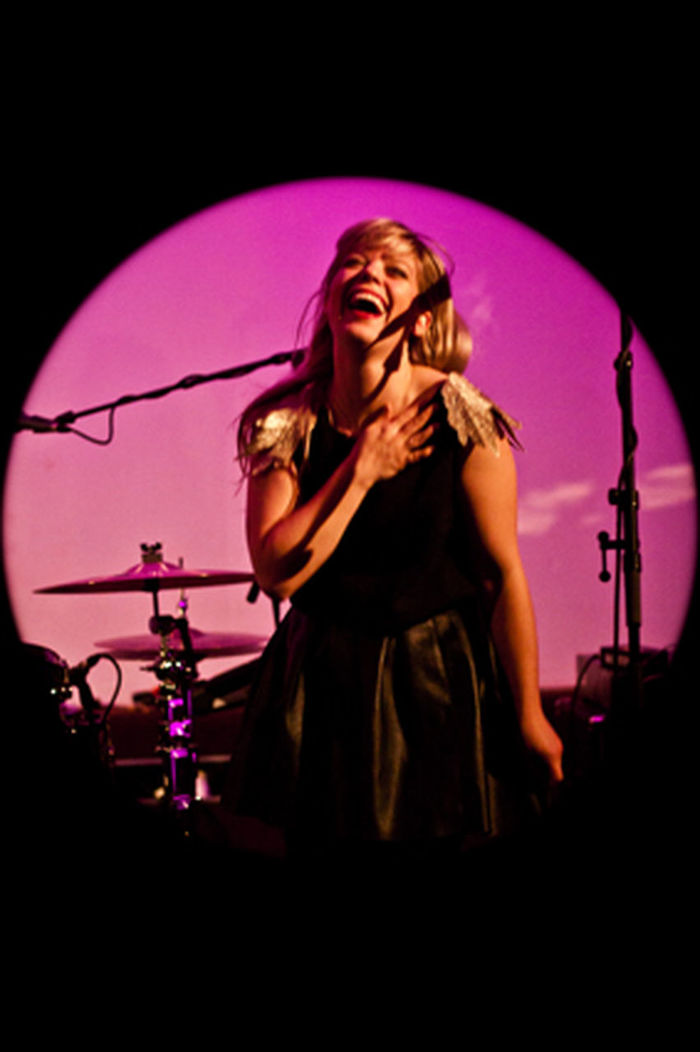 Basia Bulat Music Musician One Woman Only Singing Nightlife Indoors  Drum Kit Landmark Landmark Bar Landmark Bergen Bergen Kunsthall EyeEmNewHere Women Around The World