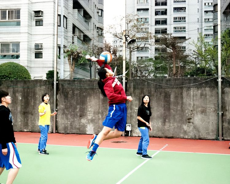 Wuling Eyeemsports Excercise Excercise Time School Life  Young Athlete Sport Sports Photography People Photography Girl Volleyball Jump