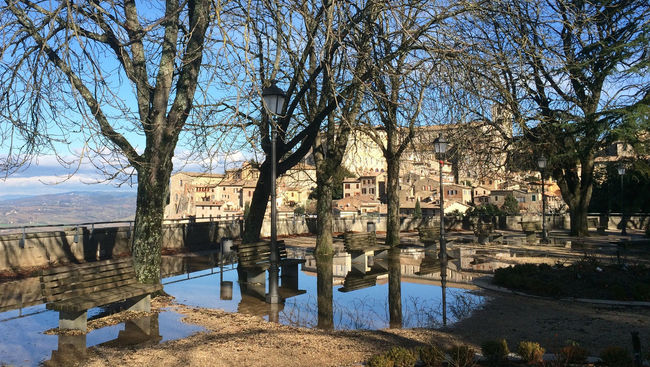 Nature Outdoors Reflection Todi  Trees Trees Reflected In Water Trees Reflection Water