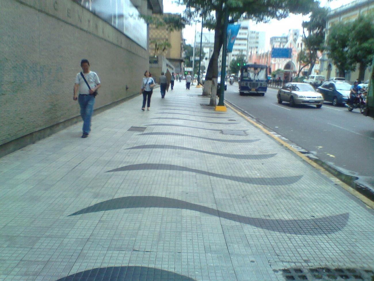 La cuadra del Banco central de Venezuela