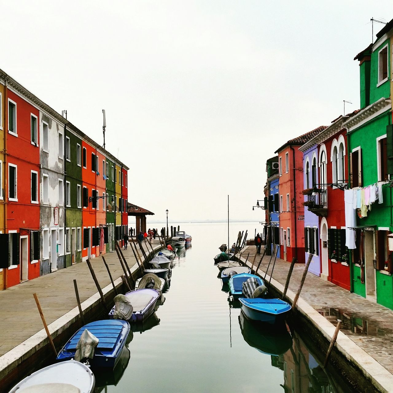 Water Multi Colored City Reflection Architecture Burano, Italy Wonderful_places Travel Destinations Travelgirl