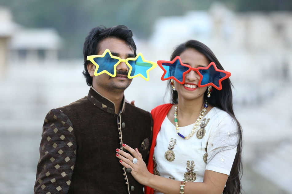 Two People Togetherness Sharing  Couple - Relationship Outdoors Heterosexual Couple Lifestyles Friendship Couple Photography Preweddingshoot Real People People Star Google Star Chasma Star Eye Gare Bonding Day
