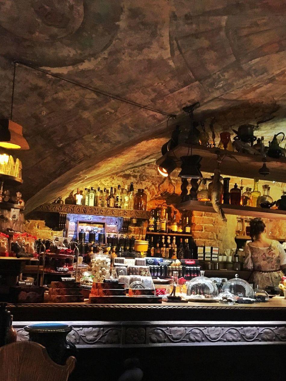 Cafe Downstairs Cellar Riga Baltics2k16