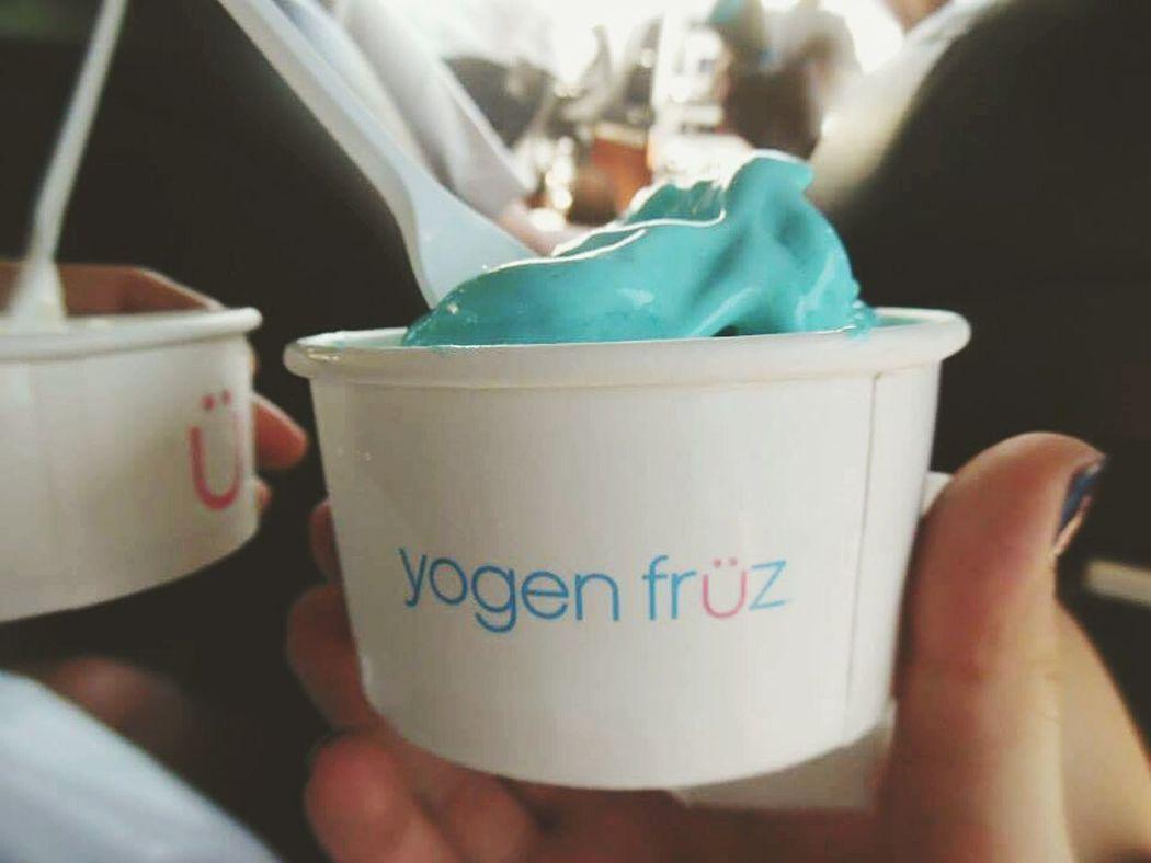 Yogen Fruz Frozen Yogurt Frozen Treats Delicous Food