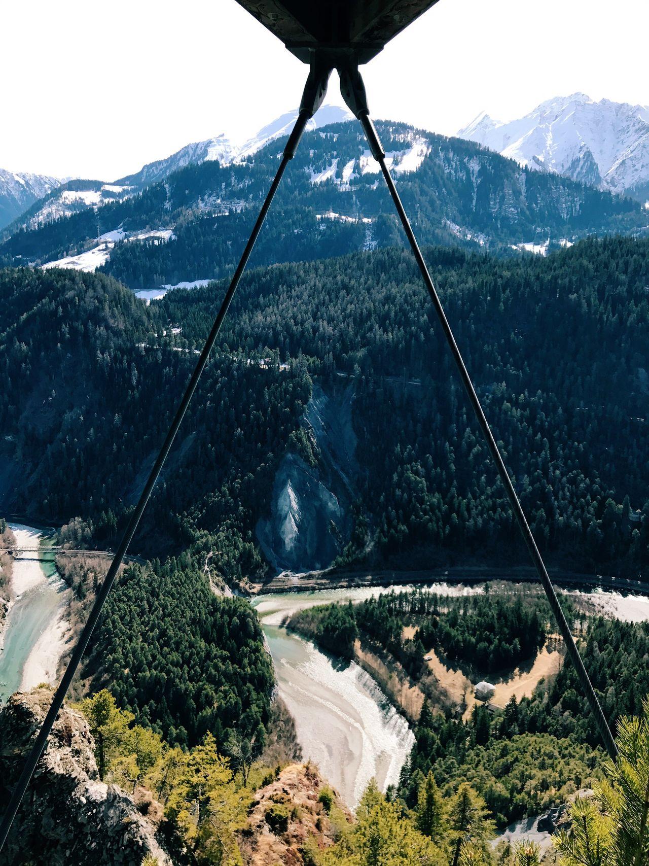 Rheintal  Schweiz Flims-laax Mountain Nature Beauty In Nature Mountain Range Tranquil Scene