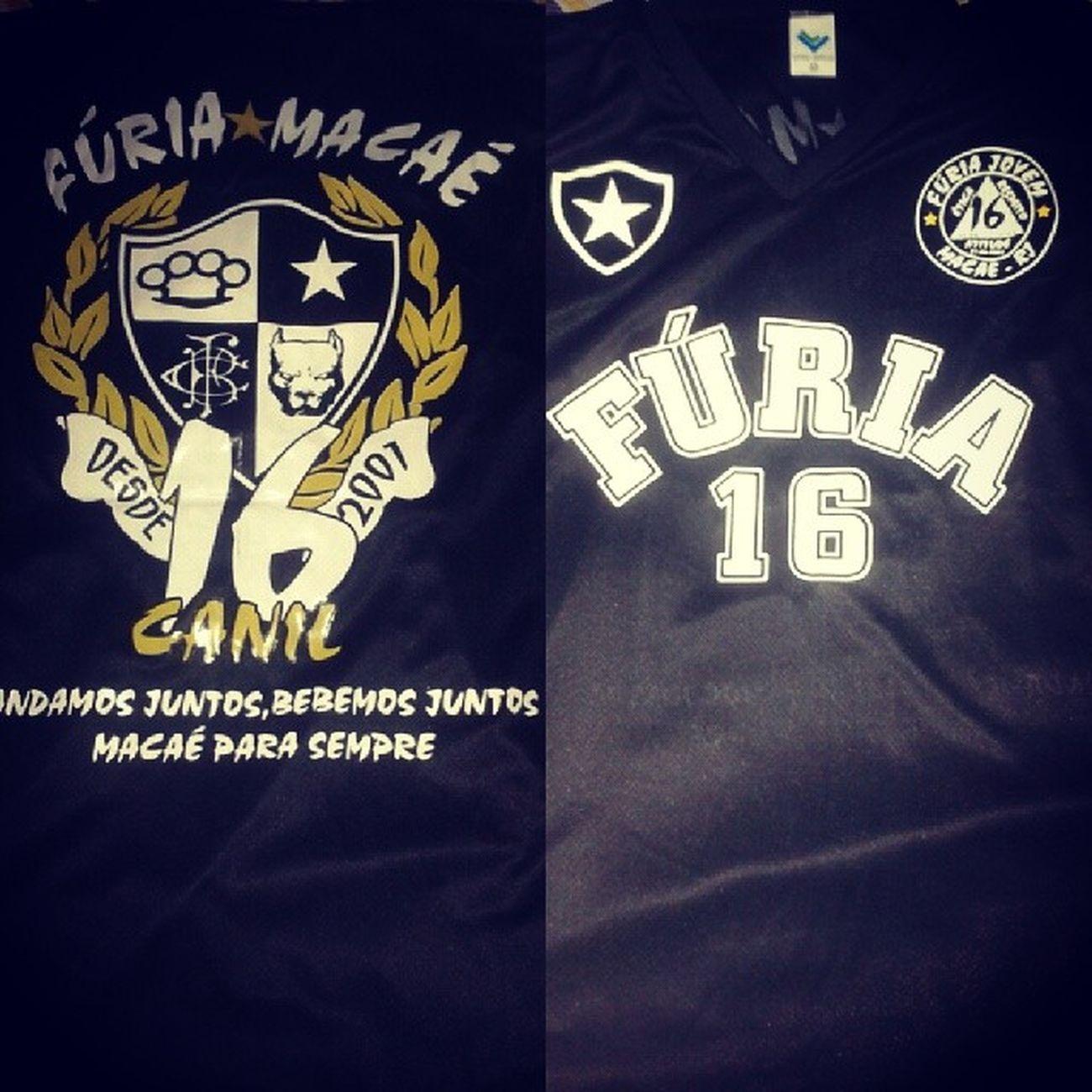 Ai sim em, chegou nova camisa da Furia TorcidaFúria Do Botafogo