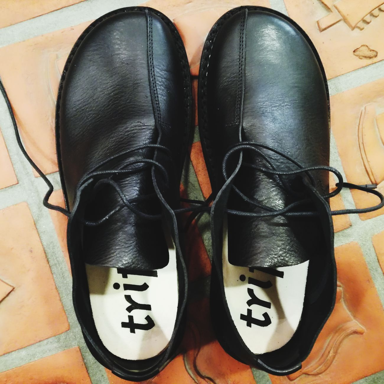 Shoes Fashion No People Pair Black Trippen Indoors  Day