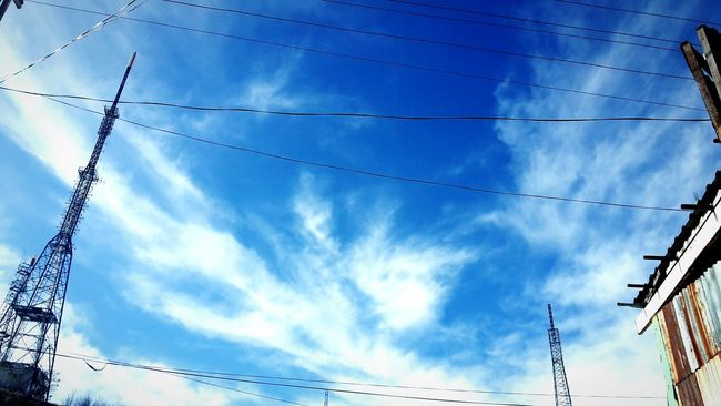 Nice Day 🙌😄 Air Azure Sky The Amazing Sky Heavenly Sky