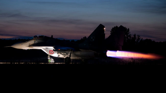 Air Force Airbase Aircraft Airspace Aviation Fighter Fulcrum MiG29 Military Photography Poland Protecting Tactical