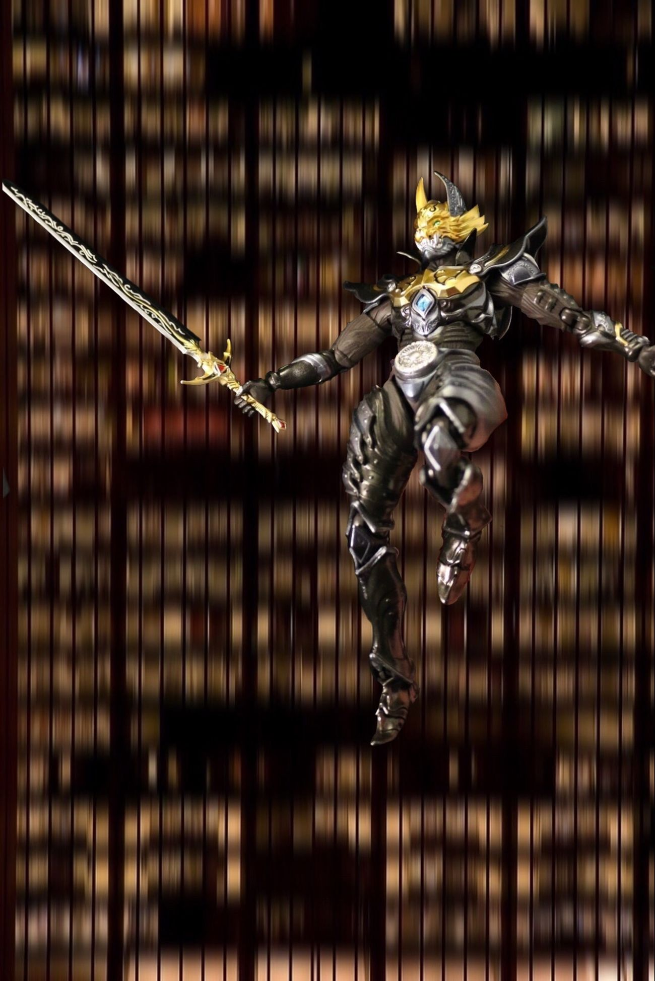 Falling! Garo Tokusatsu Toy Actionfigures Shf SHfiguarts Makaiknight