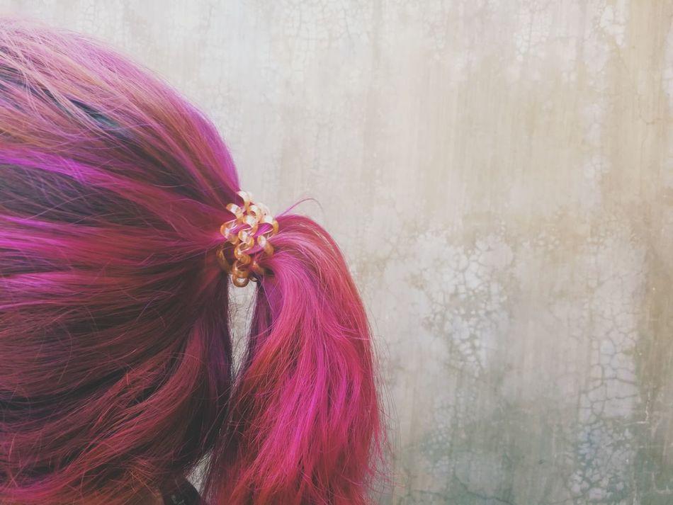 Pink punk Millennial Pink Pink Hair Hair Pink Pony Tail  Hairstyles EyeEm Diversity Break The Mold