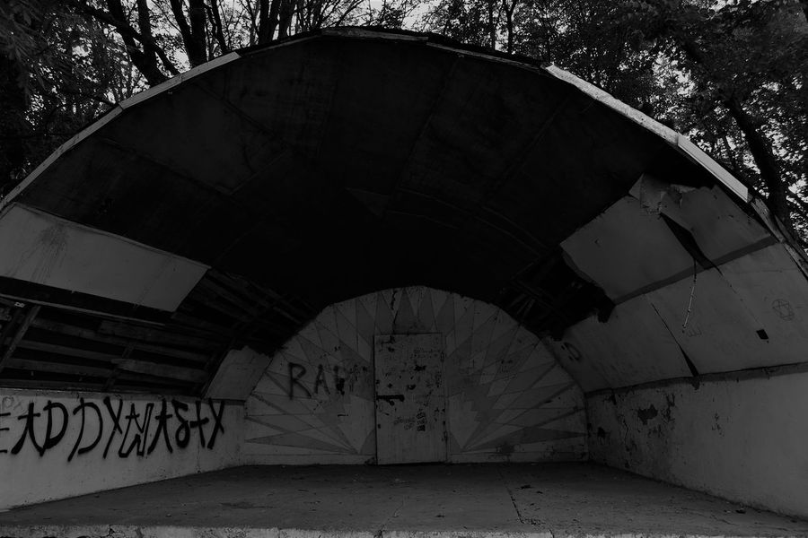 Abandoned Abandoned Places Architecture Black And White Blackandwhite Built Structure Day No People Postsoviet Ruined Yahotyn