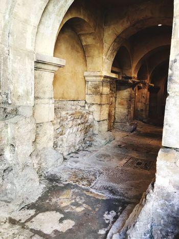 Roman Place. Architecture Architectural Column Indoors  TheRomanBaths Beautiful Beautifulcity
