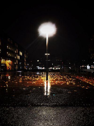 Night Street Outdoors Street Light No People City Darkness And Light