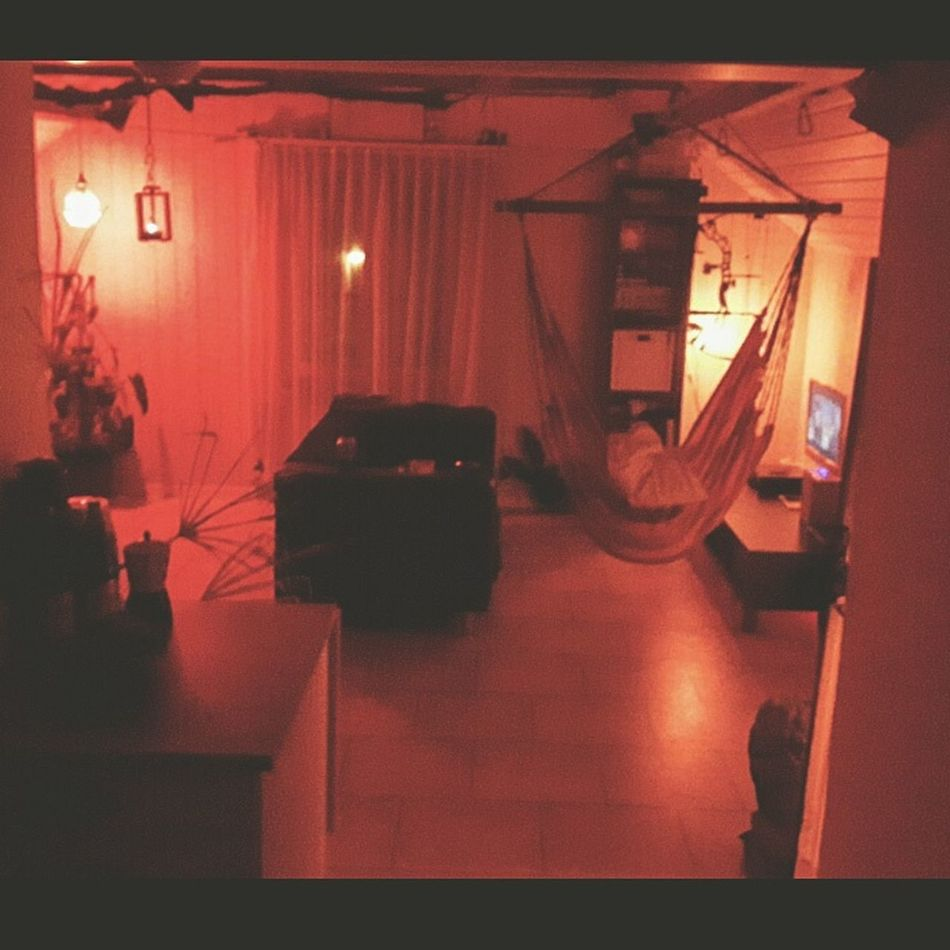 Check This Out Livingroomview Pt2 PhilipsHue Enjoying Marijuana